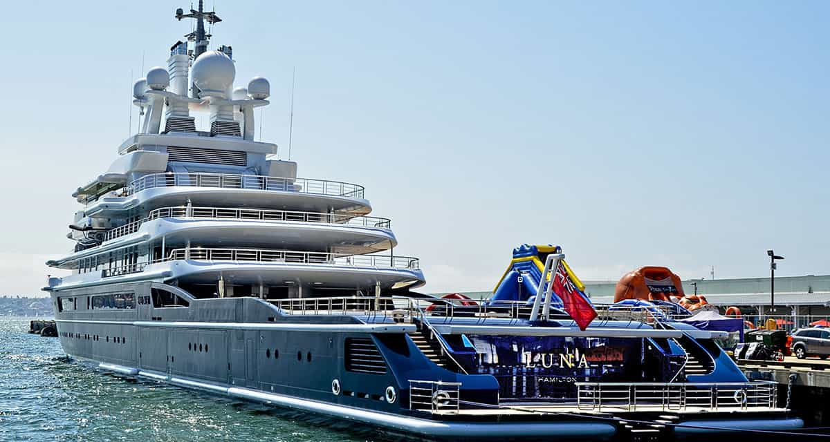 Yacht Financing and yacht leases allow borrowers to buy mega yachts