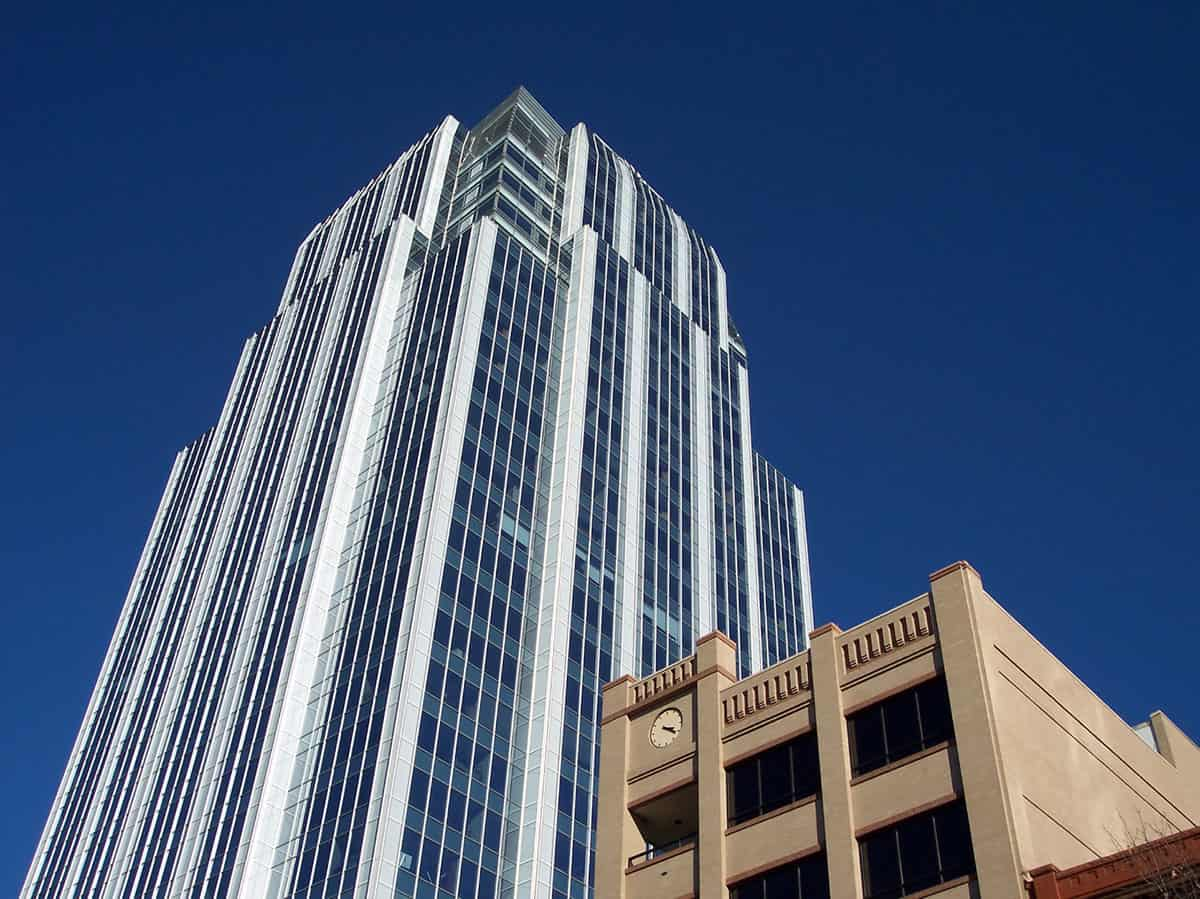 A downtown Austin mixed-use property financed by an Austin commercial real estate broker