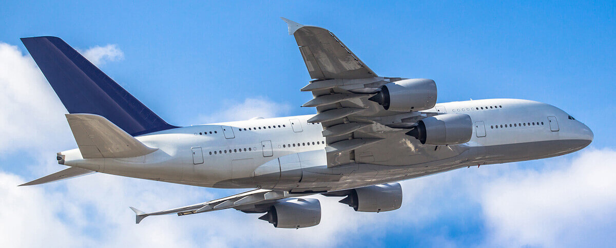 A flying AirBus A380 with funding from a best aircraft financing company
