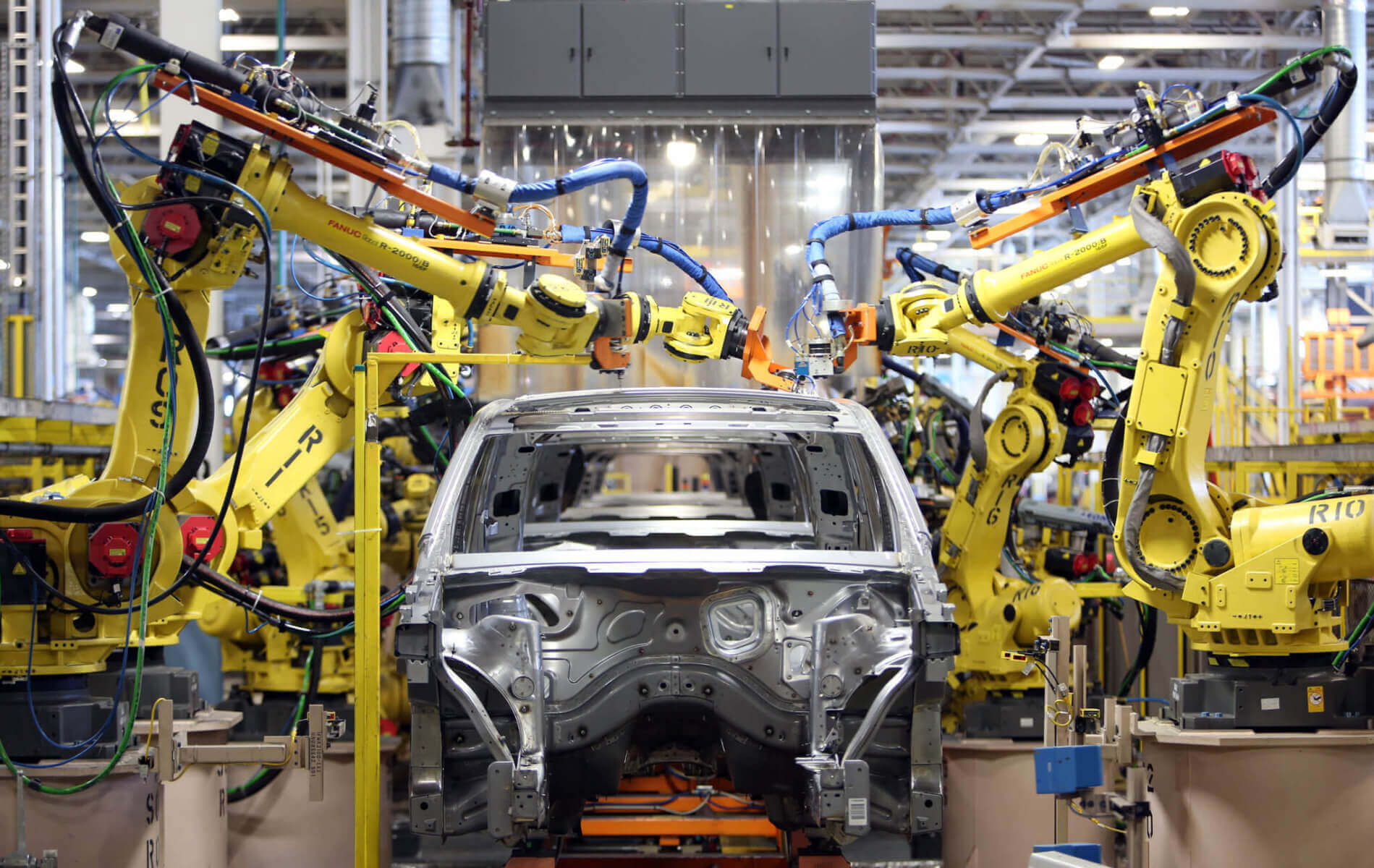 An automobile assembly line with expensive machines financed through C & I lending