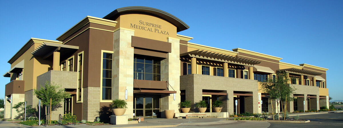 The Surprise Medical Plaza, funded by a medical office building loan